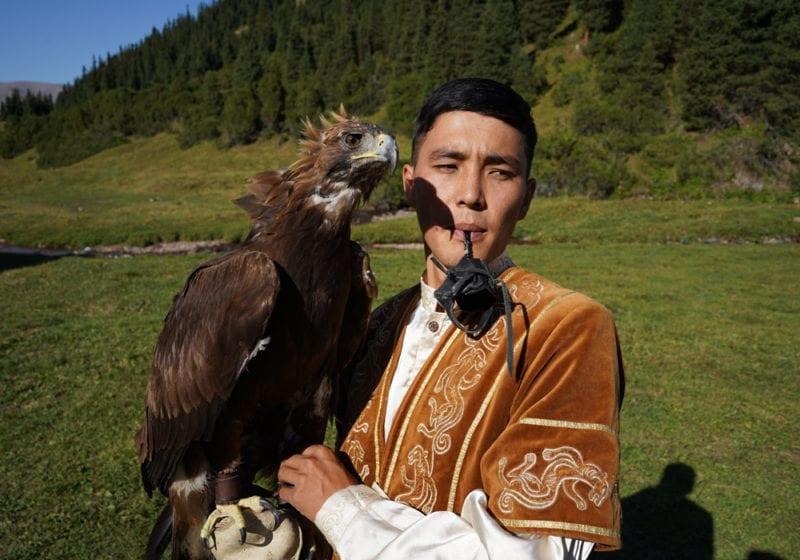 Kazakh Nomad Eagle