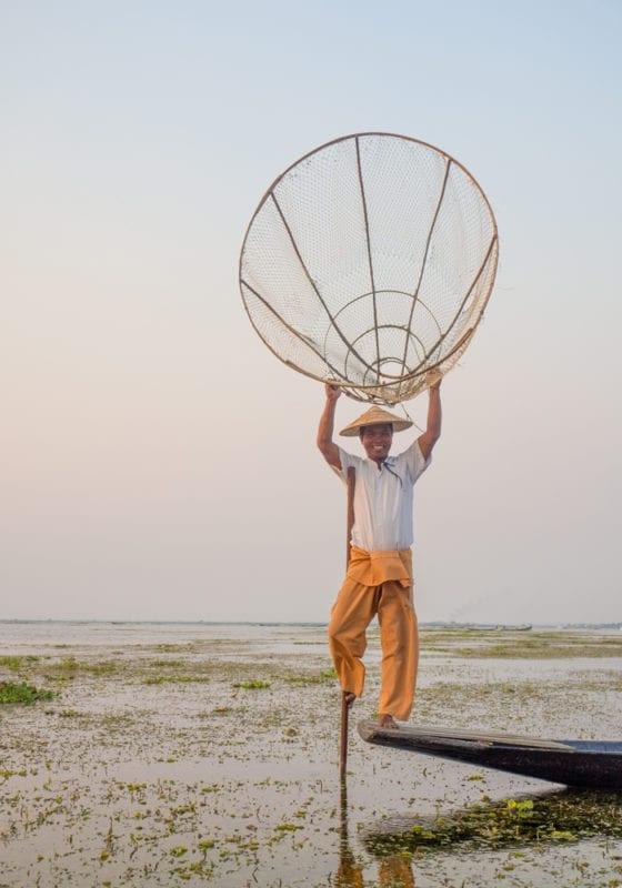 Local Fisherman Myanmar