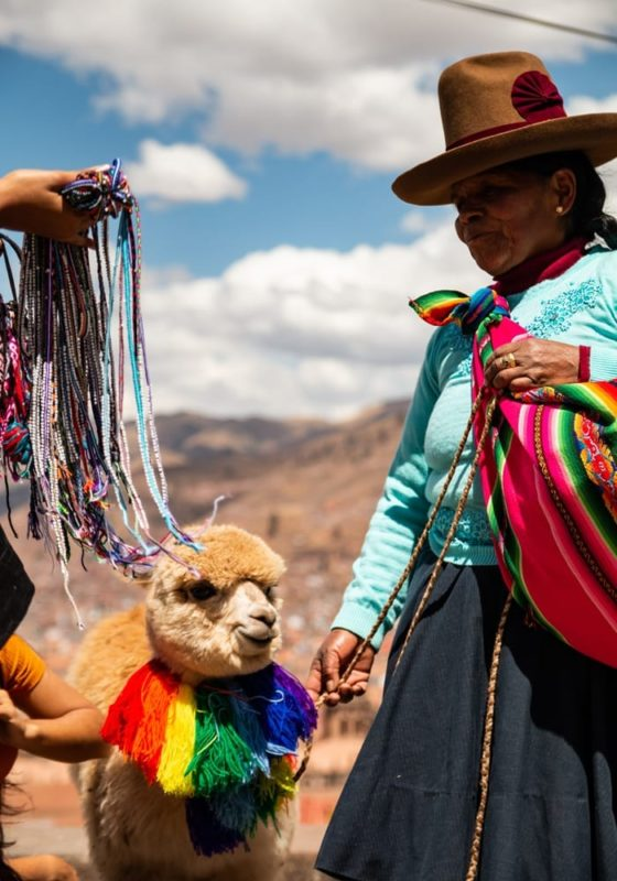 Local Women in Peru