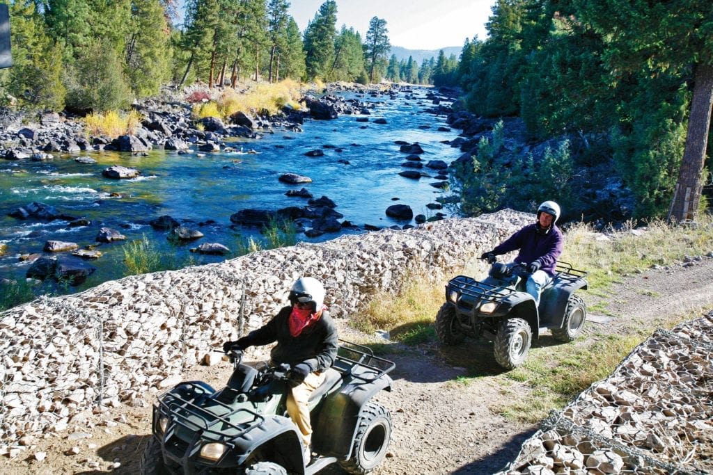 ATV adventure in Montana