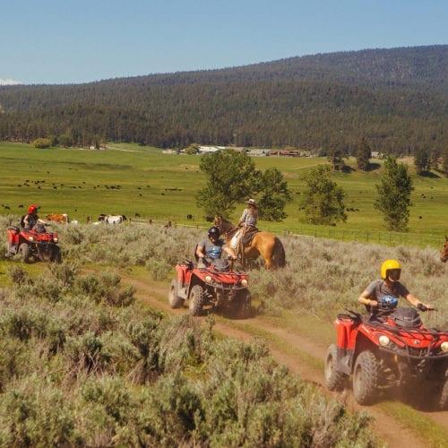 Montana quad biking