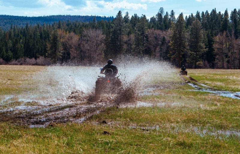 Quad biking in Montana