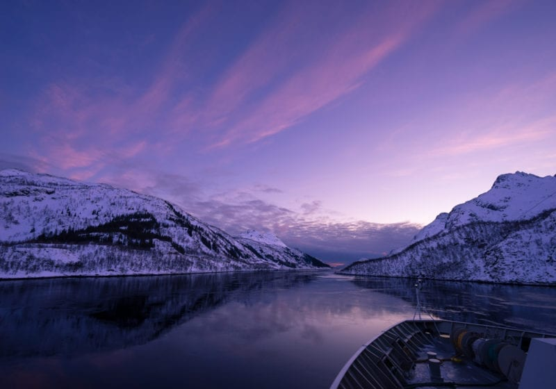 Norway Sunset Fjord
