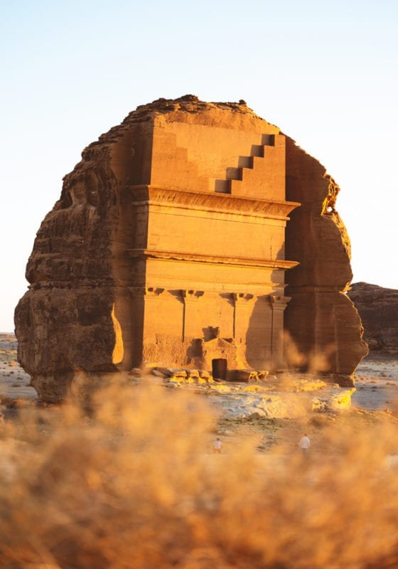 Pelorus Al Ula Saudi Arabia Ruins
