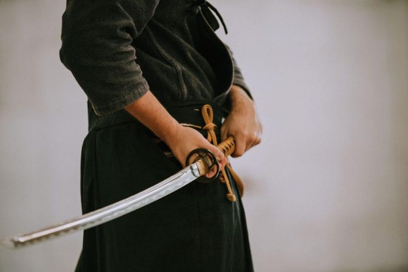 Samurai sword Japan