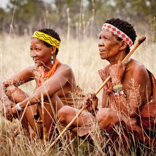 botswana san bushmen