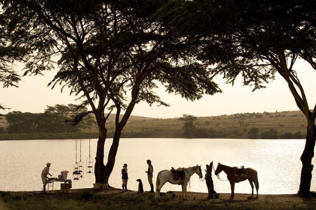 Riding Safari and Bush Lunch Kenya