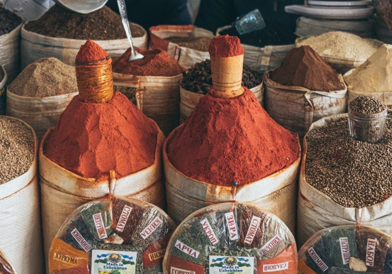 Spice Bags in Uzebkistan