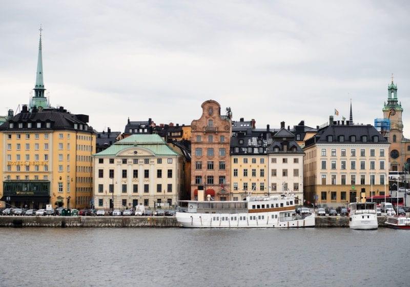 Stockholm Sweden City View
