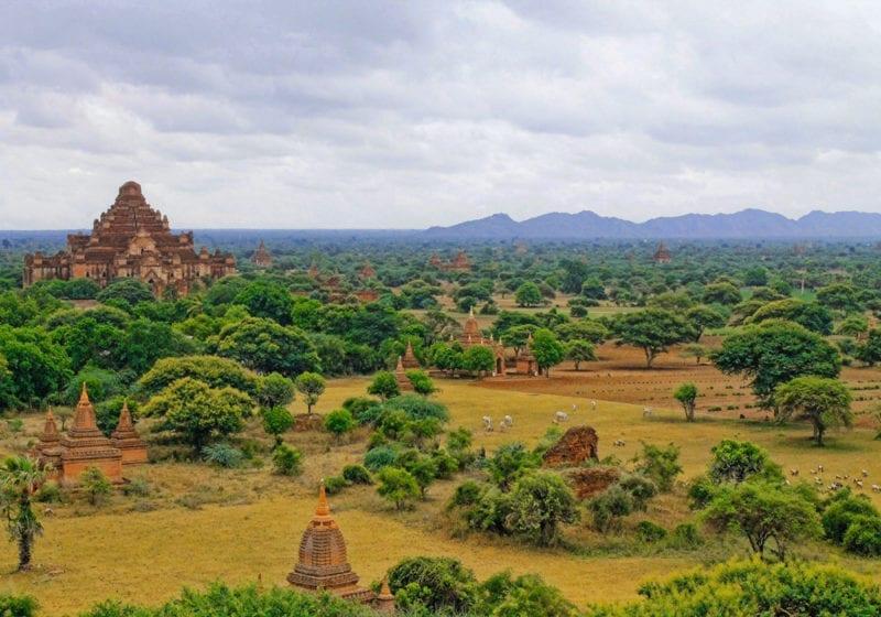 Temple Tops Myanmar
