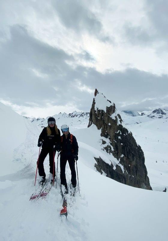Ski Touring with Tatiana