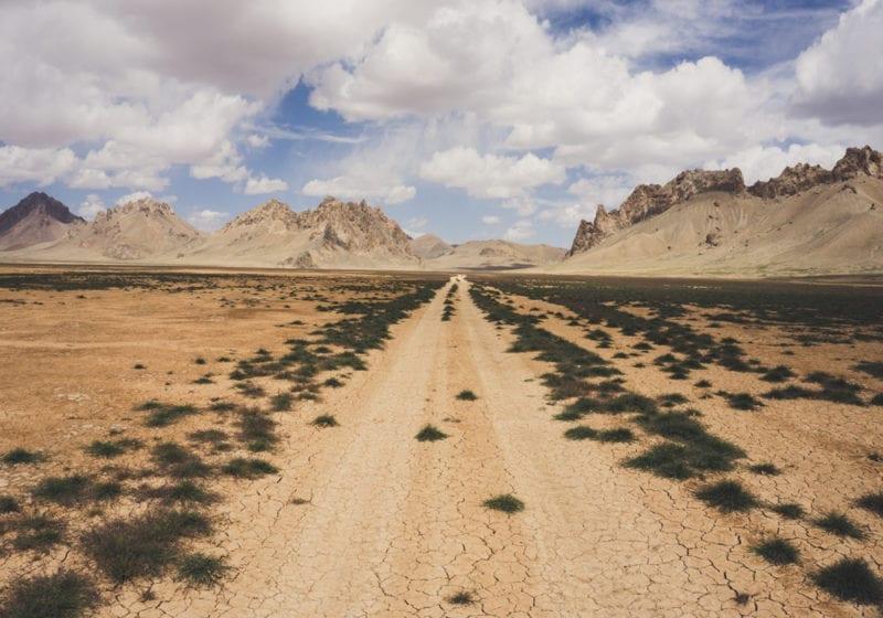 Empty Roads in Uzbekistan