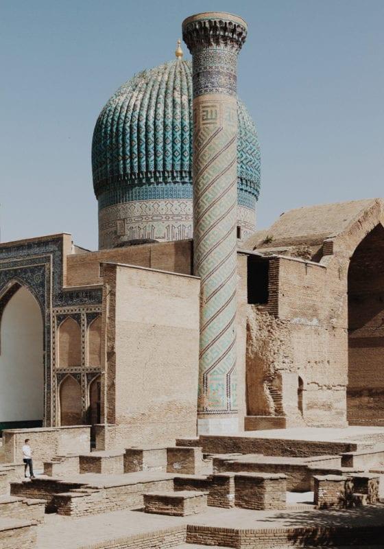 Uzbekistan Temple