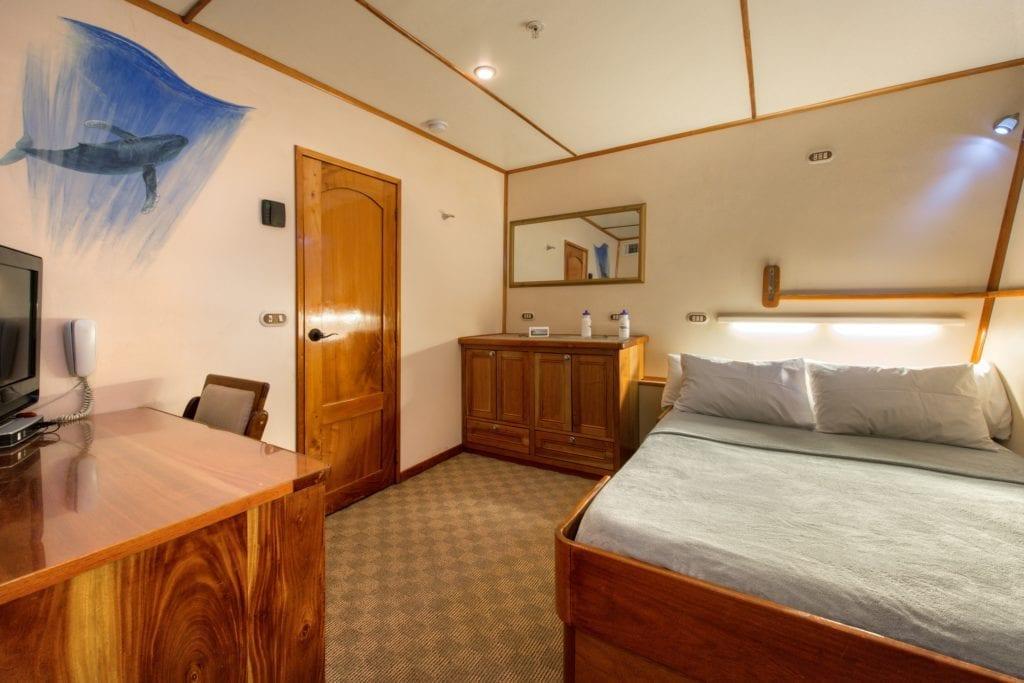 Bedroom Interior onboard Argo Yacht