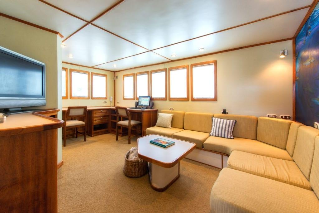 Seating Lounge Area Interior Argo Yacht