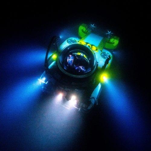 Submarine Deepsee at Night