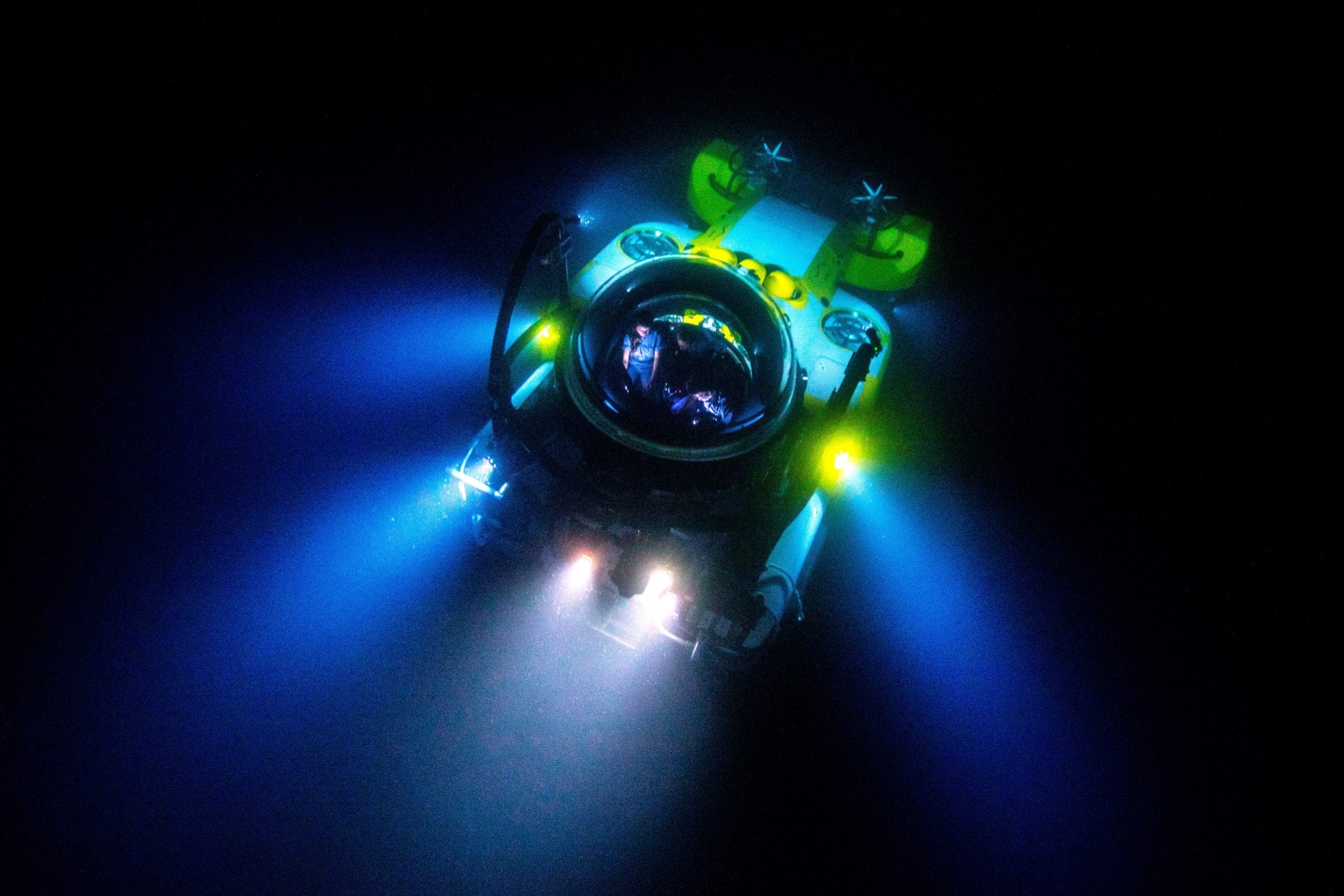 Submarine Deepsee at Night