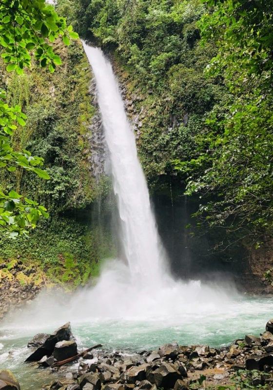 Jungle Waterfall in Costa Rica