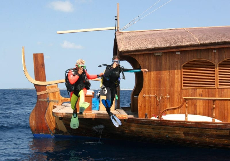 Dhoni Stella Yacht Exterior Diving