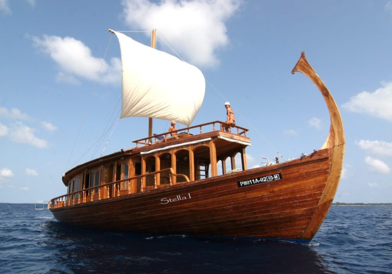 Dhoni Stella Yacht Exterior Sailing