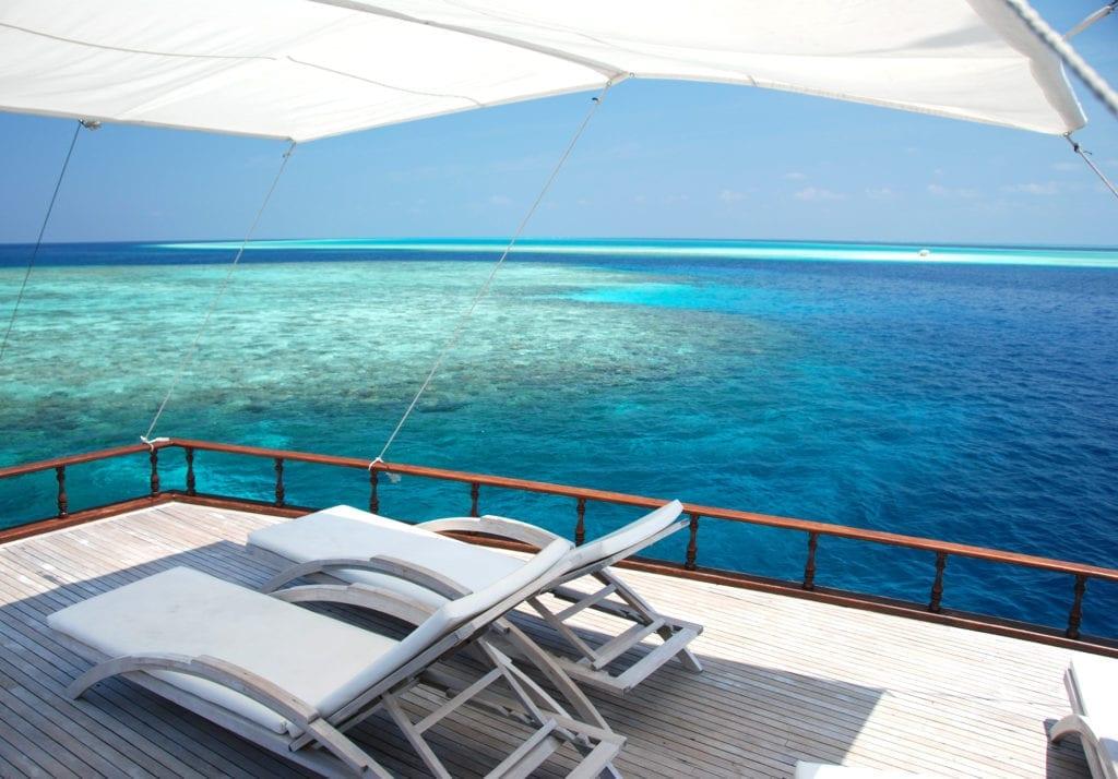 Dhoni Stella Yacht Exterior Sun Deck
