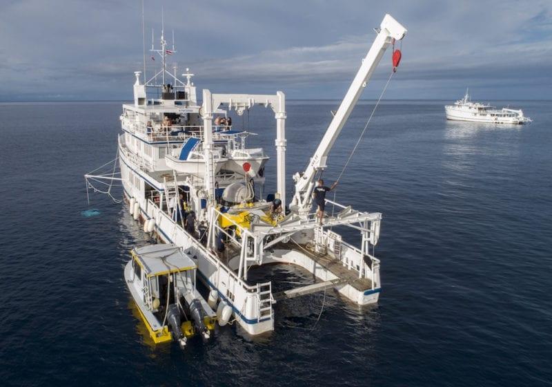 Exterior Argo Submarine Deepsee