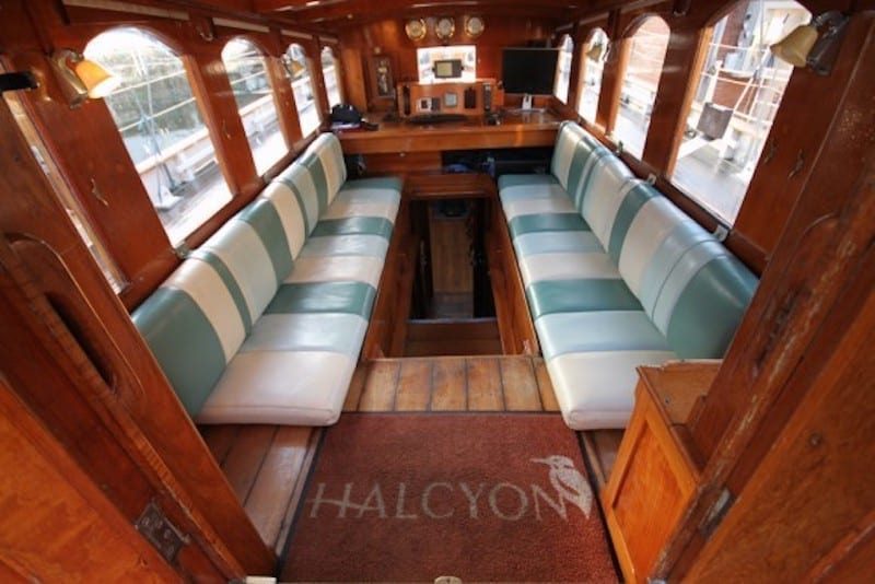 Halcyon Yacht Interior