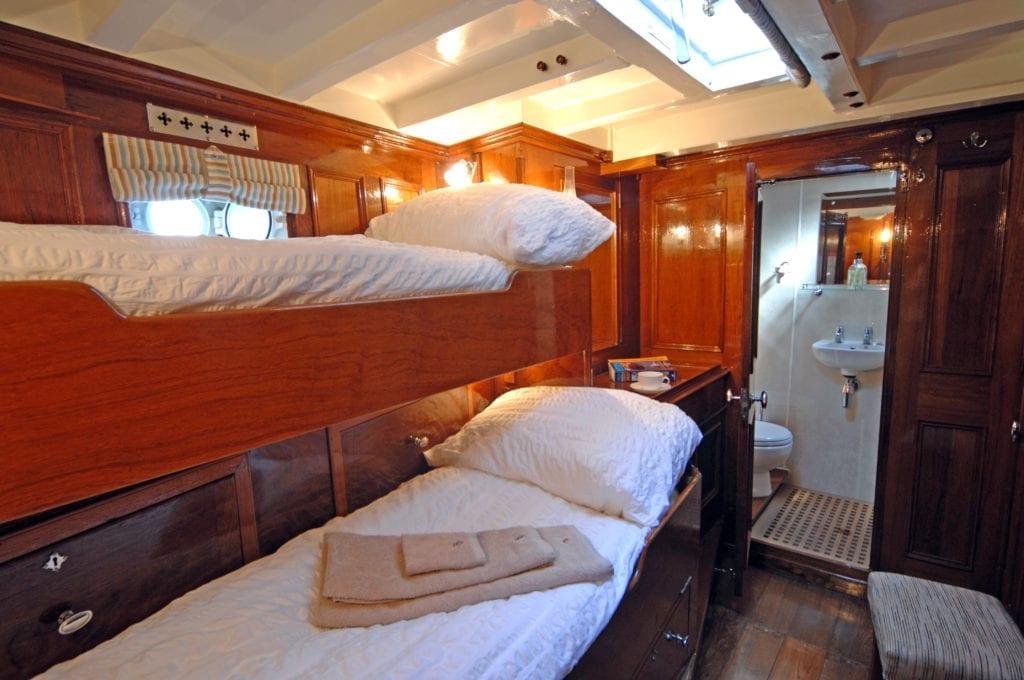 Halcyon Yacht Interior Cabin