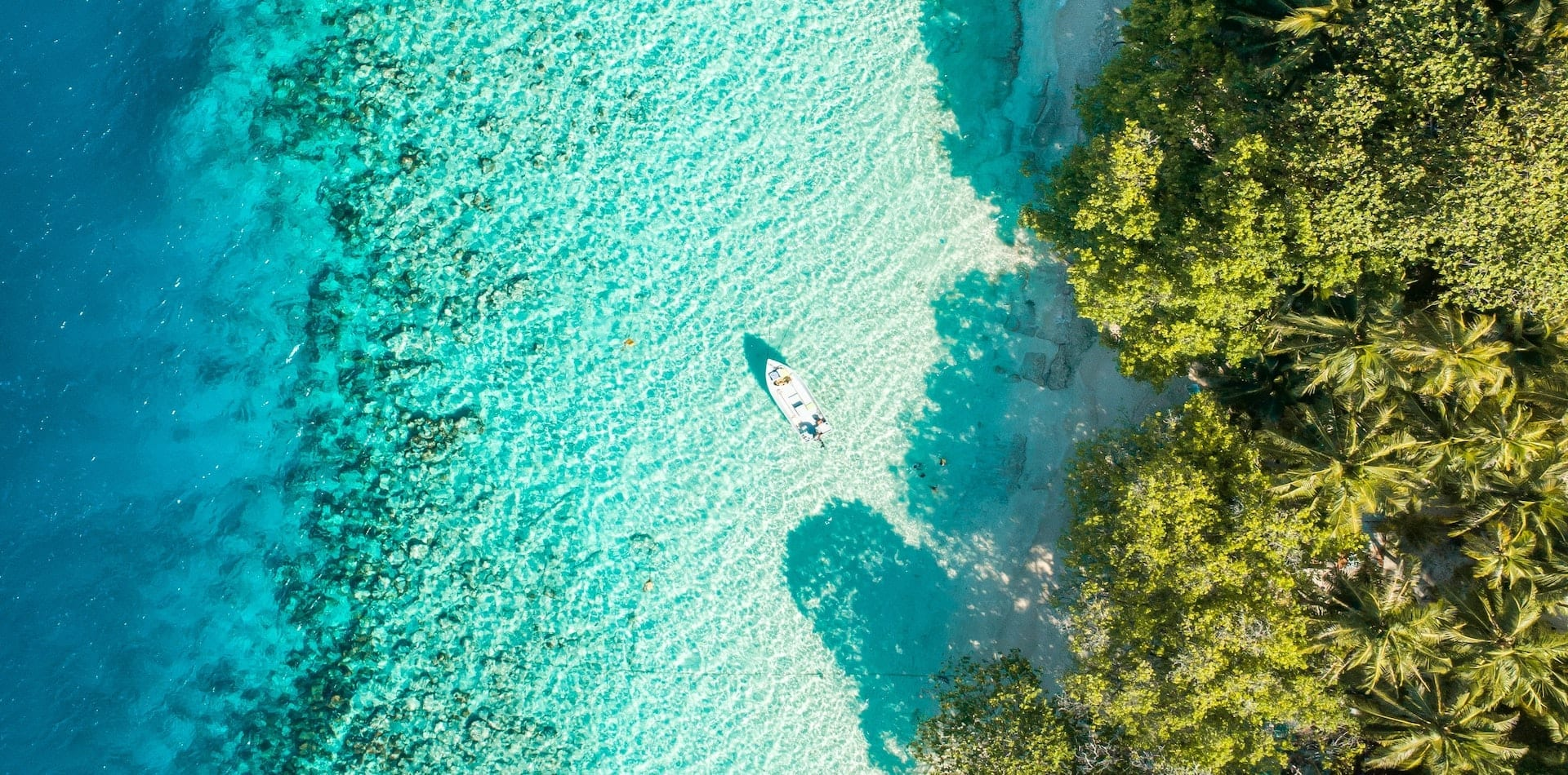 Hero Maldives Yacht Expeditions Aerial View Ocean