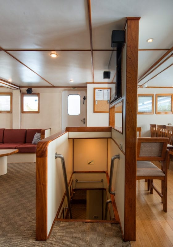 Interior of Lounge and Dining Area onboard Argo