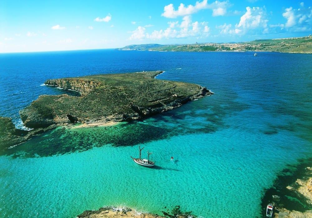 Malta Blue Lagoon Viewing Malta Credit