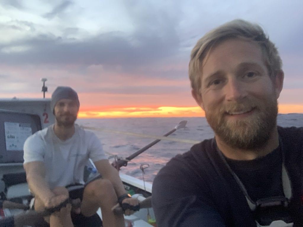 Mid-Atlantic sunset selfie