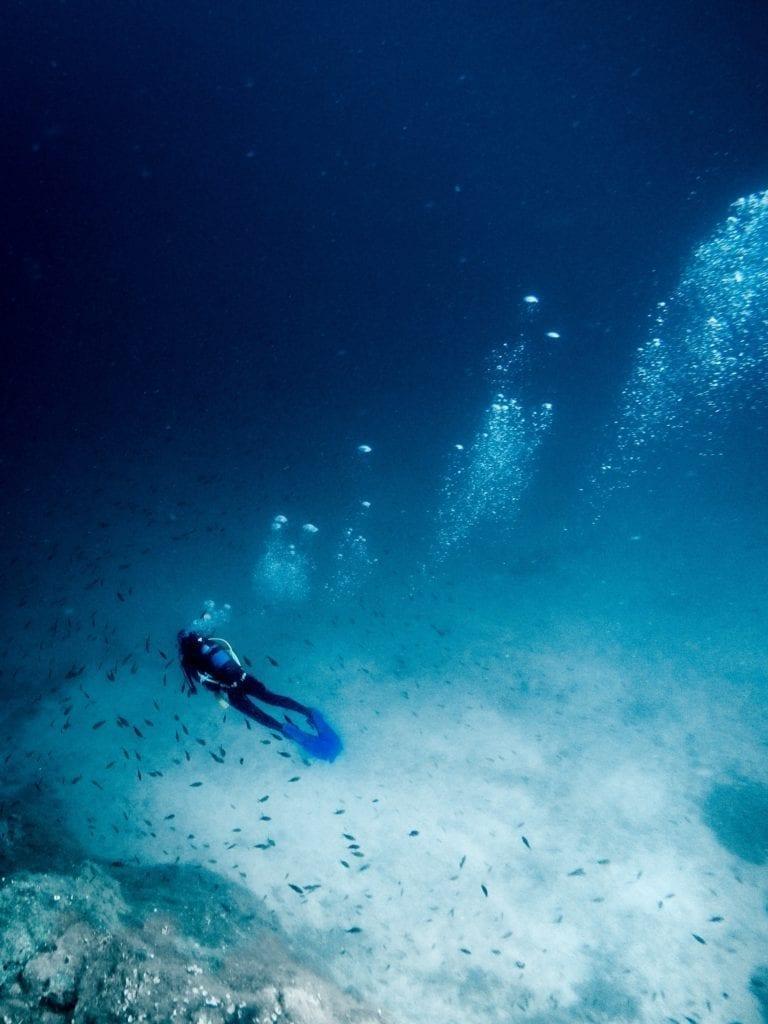 Snorkelling Greek waters
