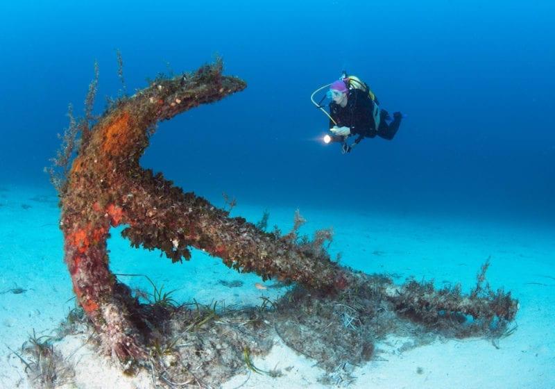 Sunken Anchor Viewing Malta Credit