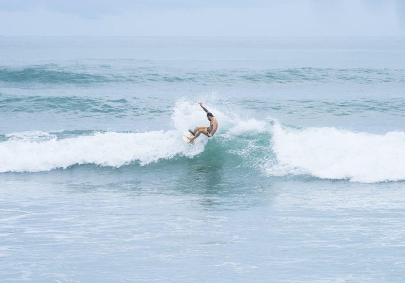 Surfing Breaks on coast of Costa Rica