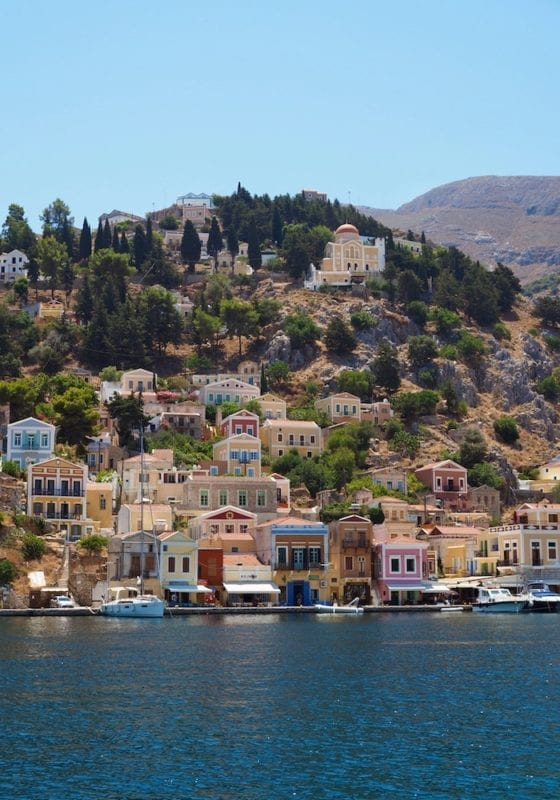 Symi island in the Dodecanese, Greece