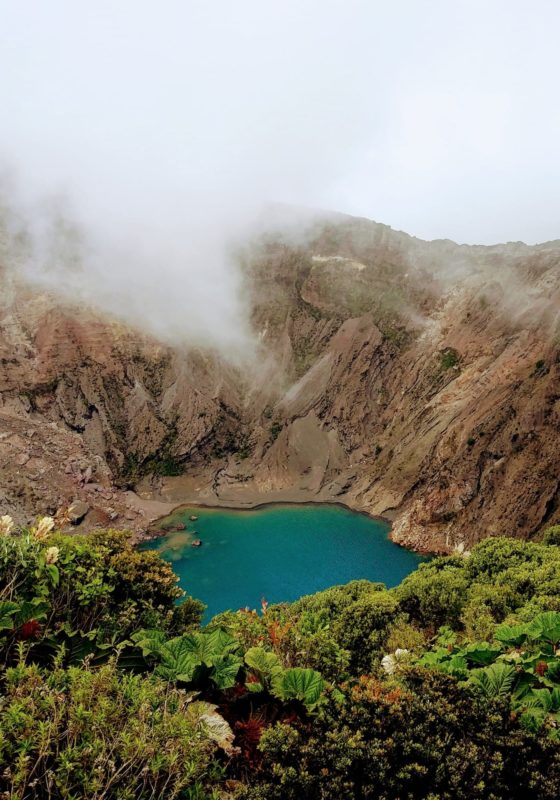 Volcan Irazu National Park Lakes Costa Rica