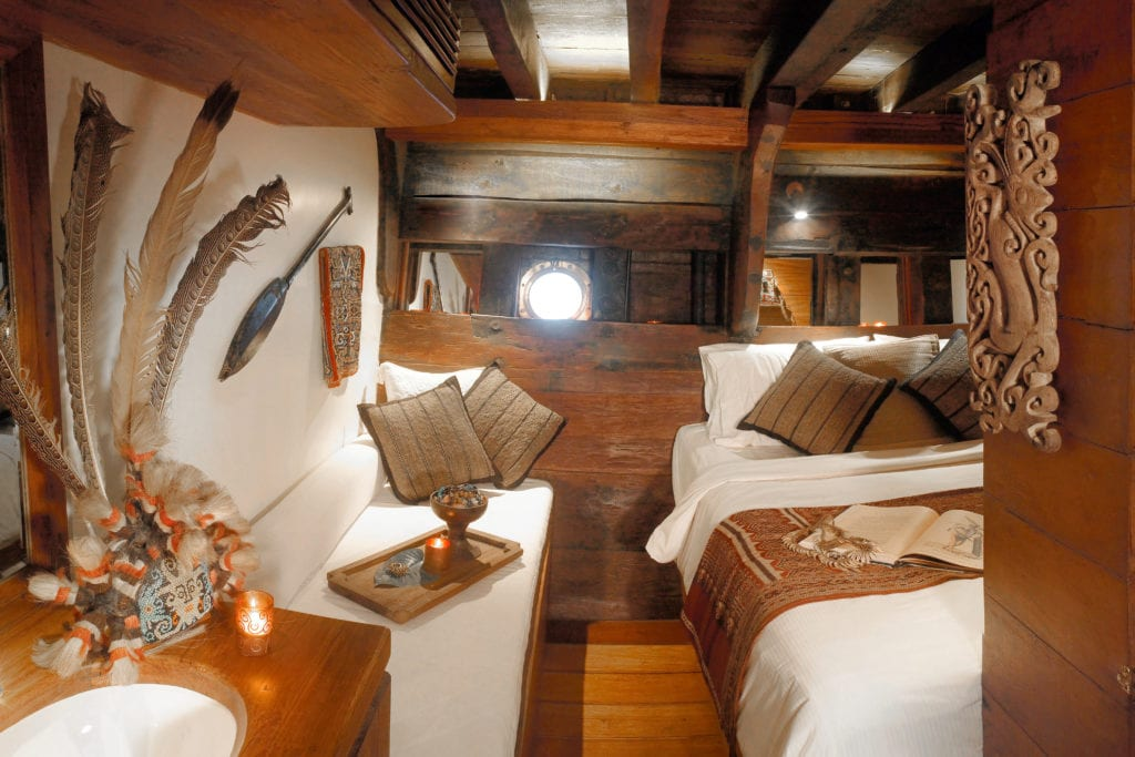 Bedroom Interior Silolona Yacht