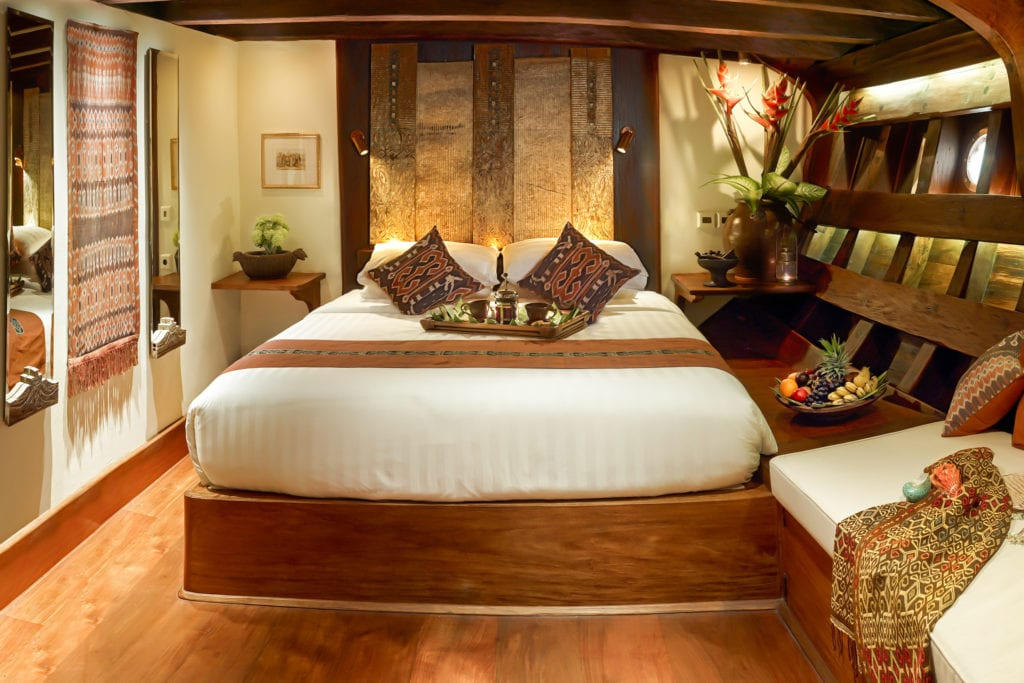 Bedroom Interior of Si Datu Bua Yacht