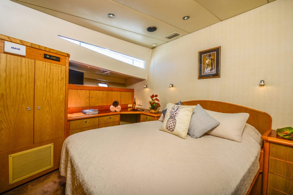 Bedroom Interior of Ultimate Lady Yacht