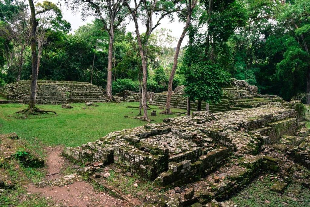 Ancient Copan Ruins in Honduras