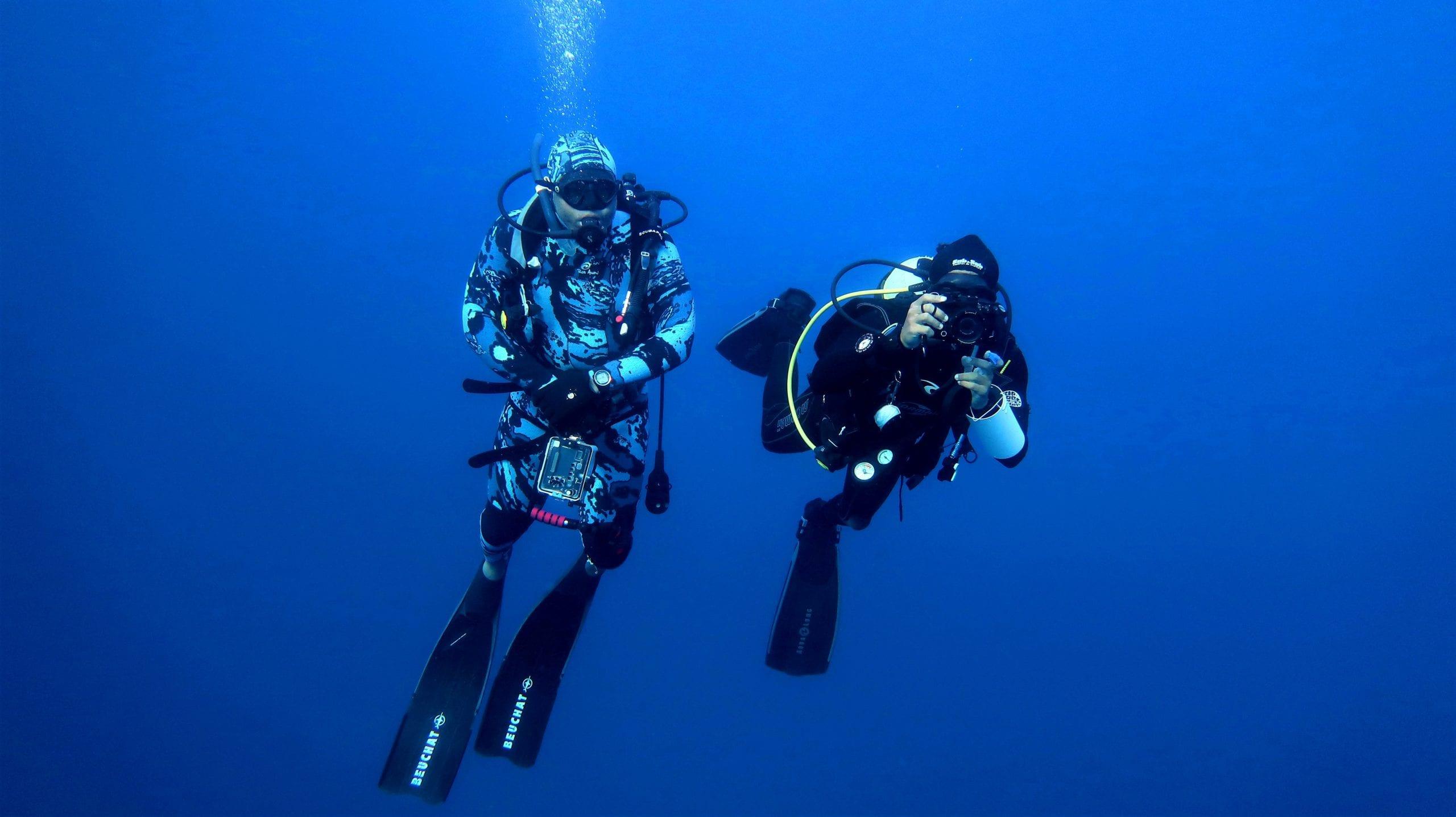 Diving in the Bazaruto Archipelago Mozambique