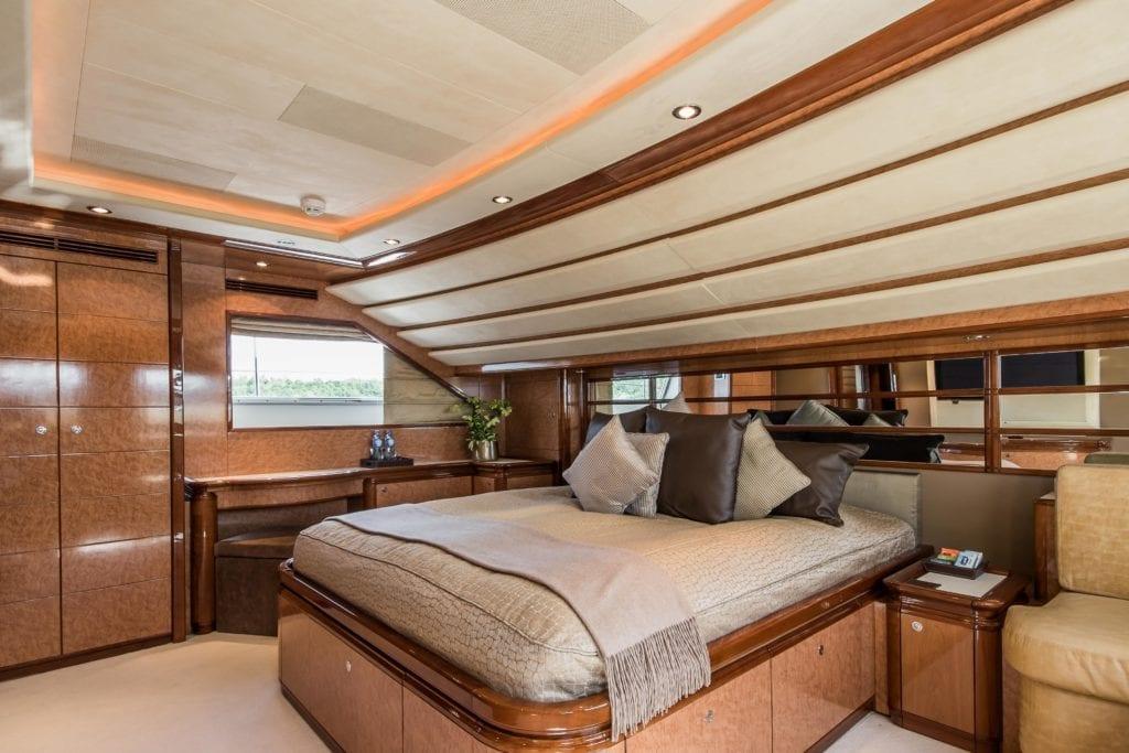 Queen of Sheba Interior Bedroom Yacht