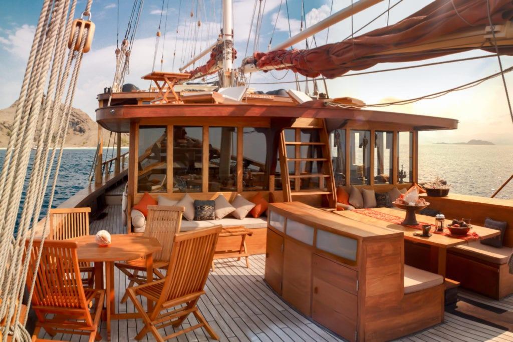 Si Datu Bua Deck Lounge Area Yacht