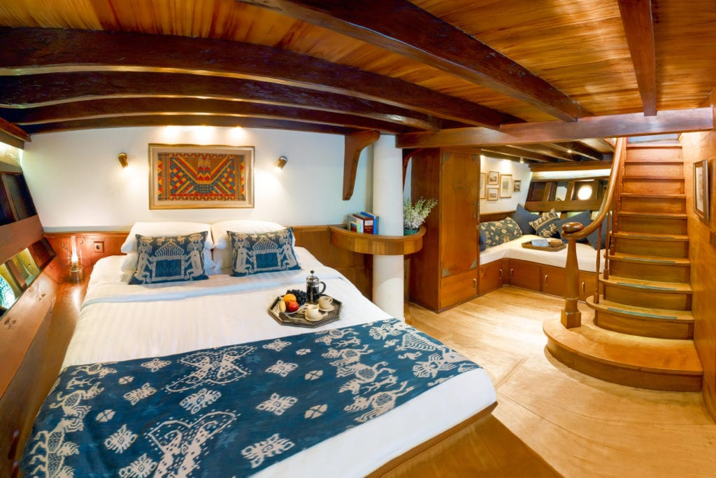 Si Datu Bua Yacht Interior Bedroom
