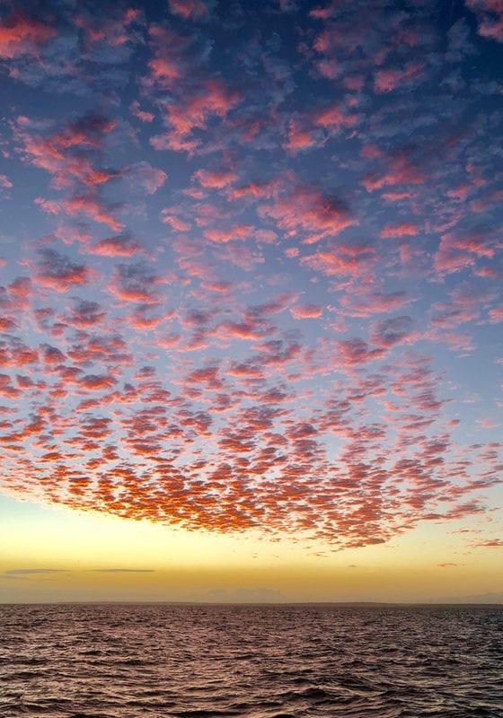 Sunset in Mozambique on the Bazaruto Archipelago