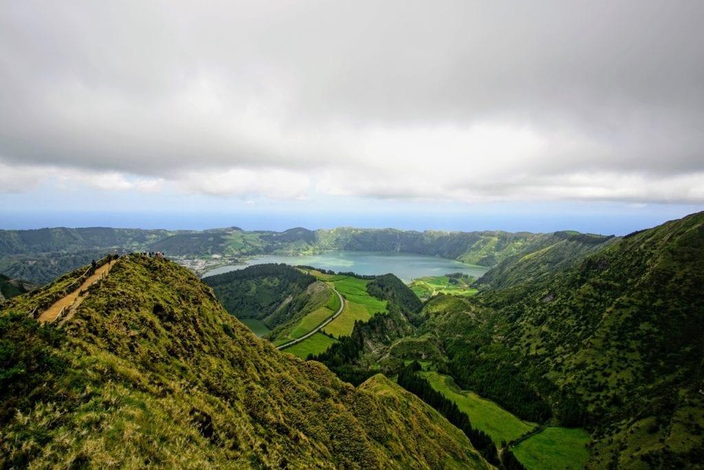 Soa Miguel Island Caldera Azores
