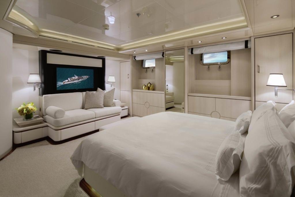 Eternity Yacht Bedroom Interior