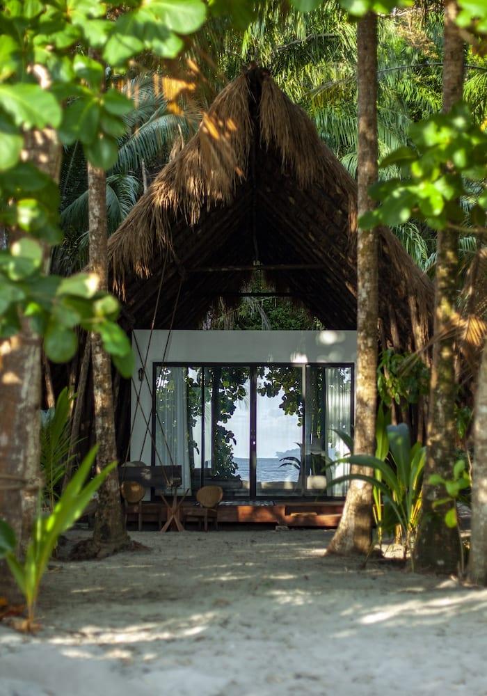Isla Palenque's hidden bungalow, Panama