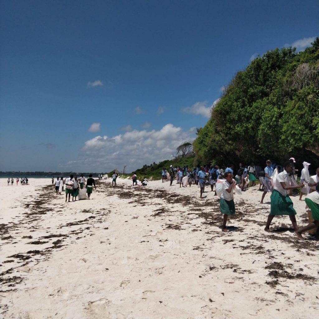 international beach clean up kenya